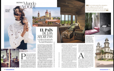 Meson Nadi featured in Vogue Mexico